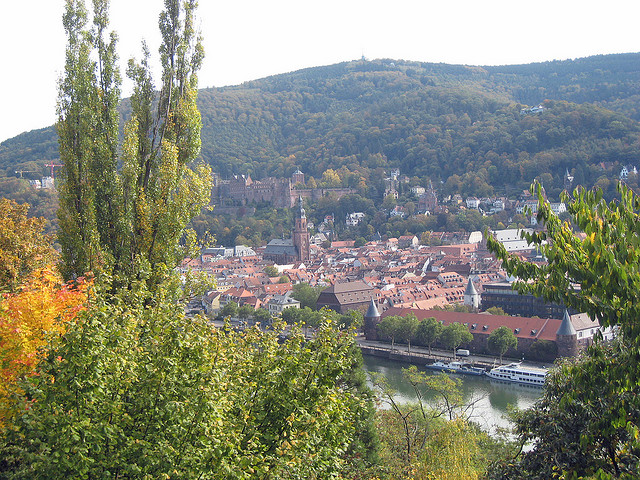 Heidelberg-city-plus-castle