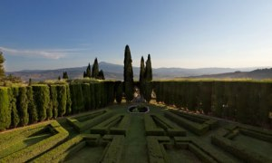 Garden estate … La Foce, the Tuscany home of Iris Origo and her husband Antonio.